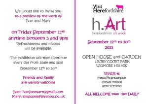 Invite for h-art preview 2015 invite