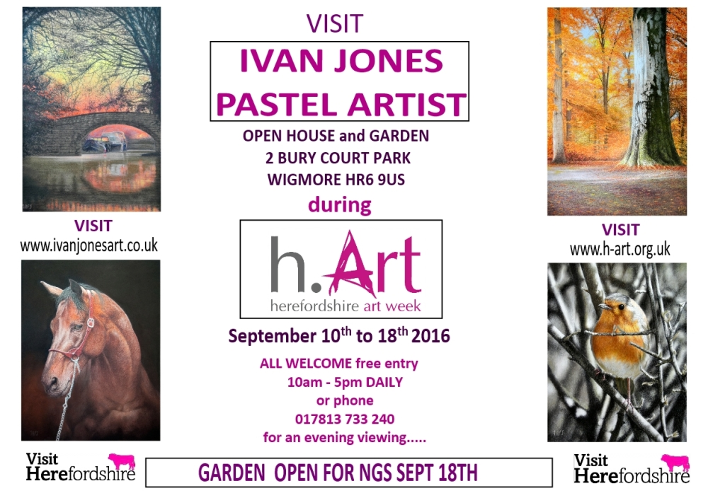 Invite to H-art 2016 Ivan Jones